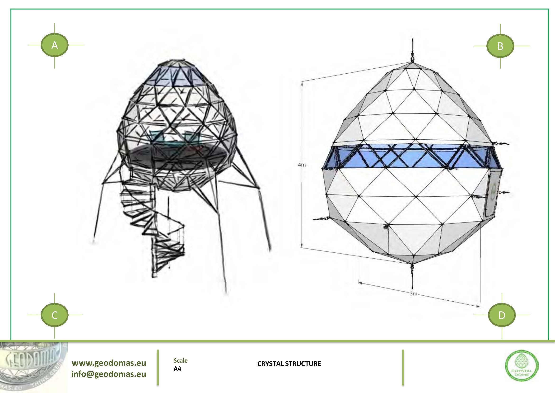 Crystal Dome for Wild Nature | Glamping Dome