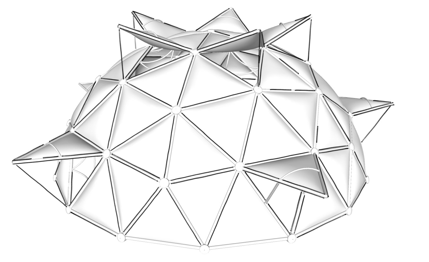 Geodesic Domes for Permaculture   Solar Domes, Greenhouses
