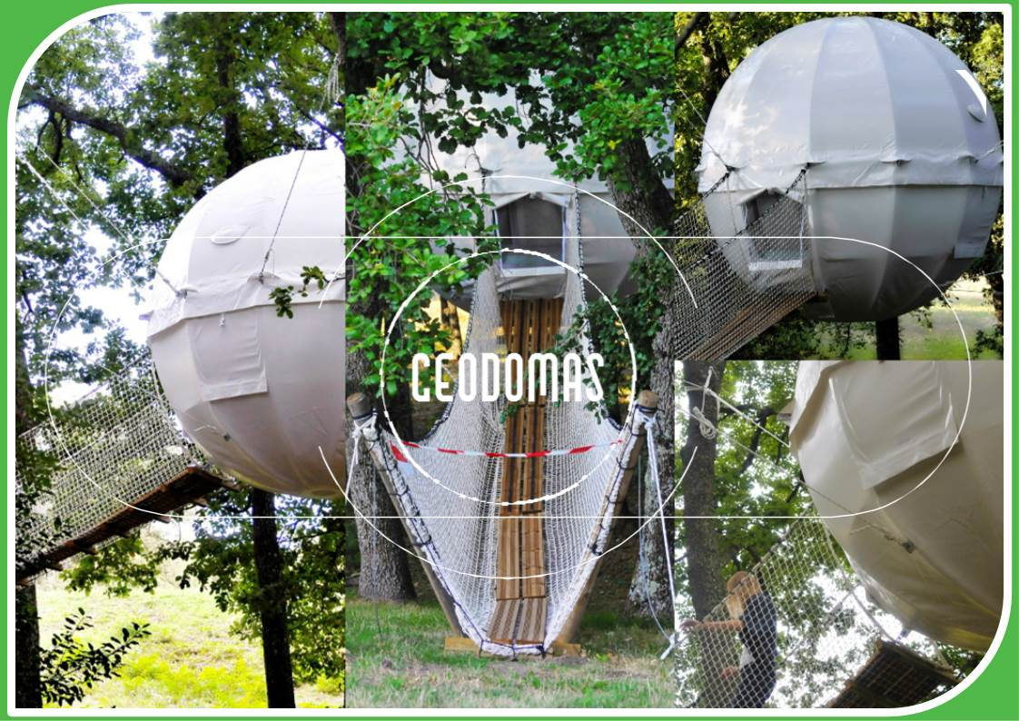 Cocoon Village modern tree house