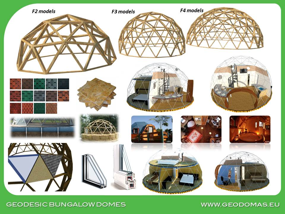 Wood Geodesic Family Home 236m2