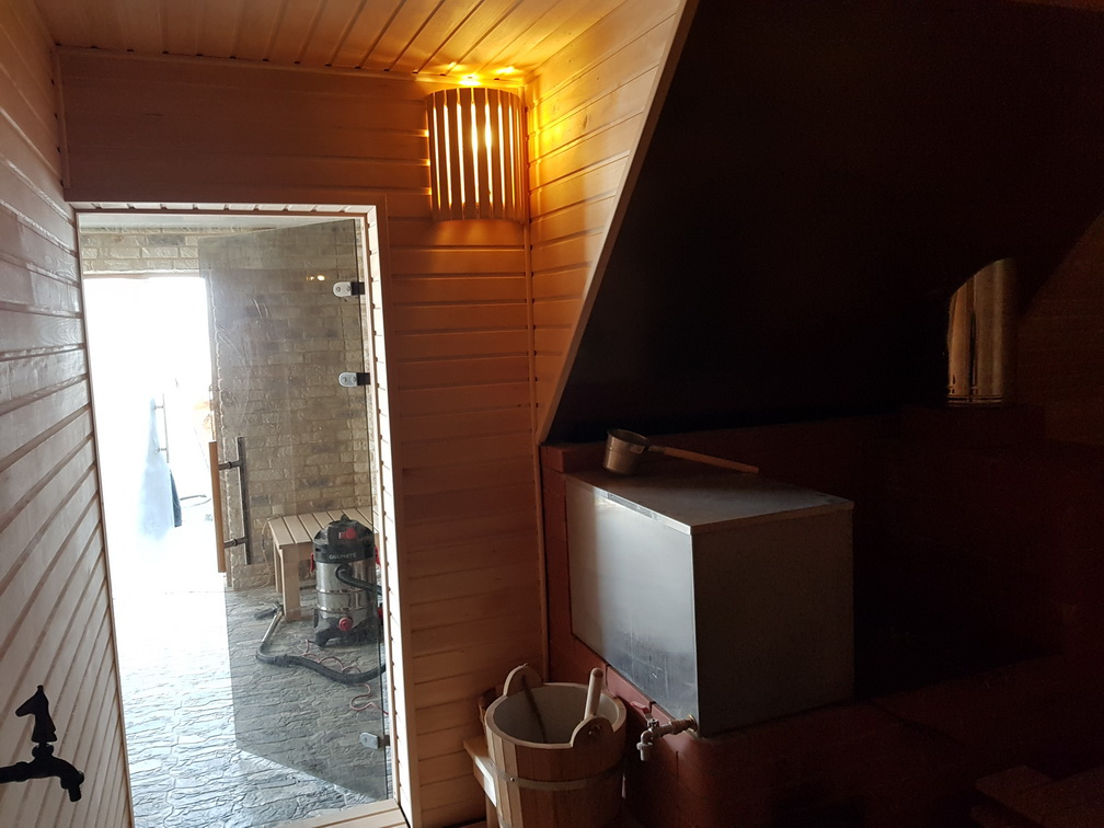 Wooden GuestHouse 125m2 with sauna Ø12m, Širvintai , Lithuania