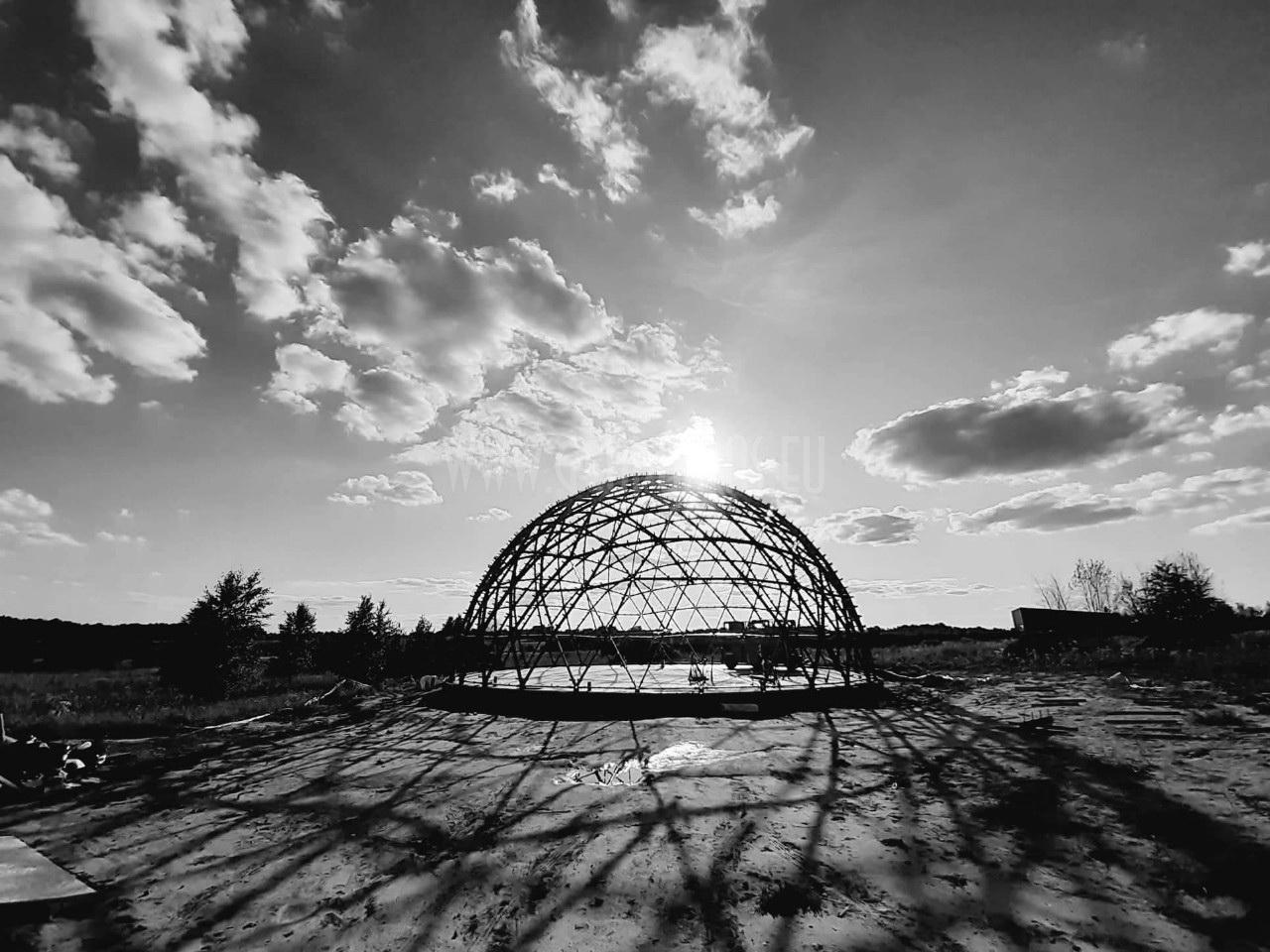 Ø20m H10m F6 Dome – Office building 460m2 |  Vilnius