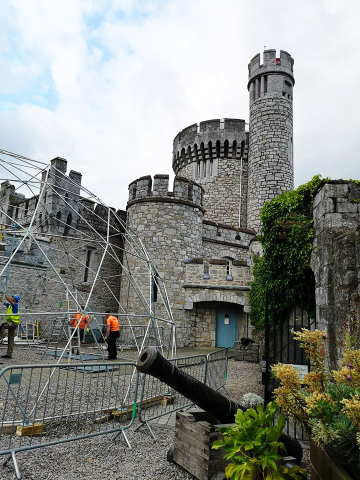 95m² Panoramic Blackrock Castle and Observatory Dome Ø11m | Cork, Ireland