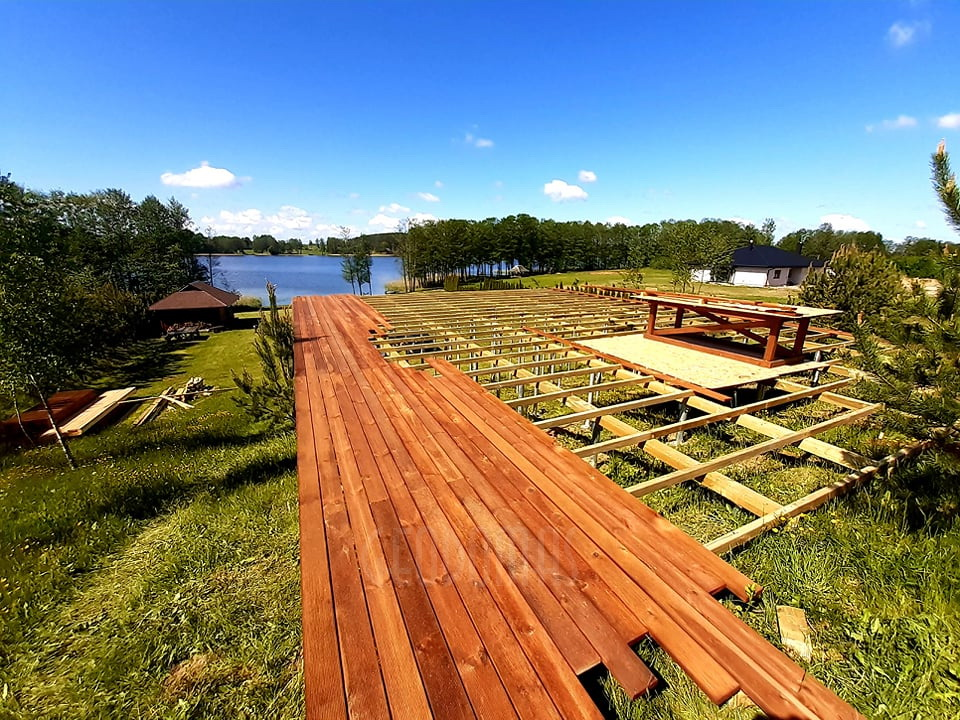 50m² Glamping Guest Dome Ø8m | Recreational area