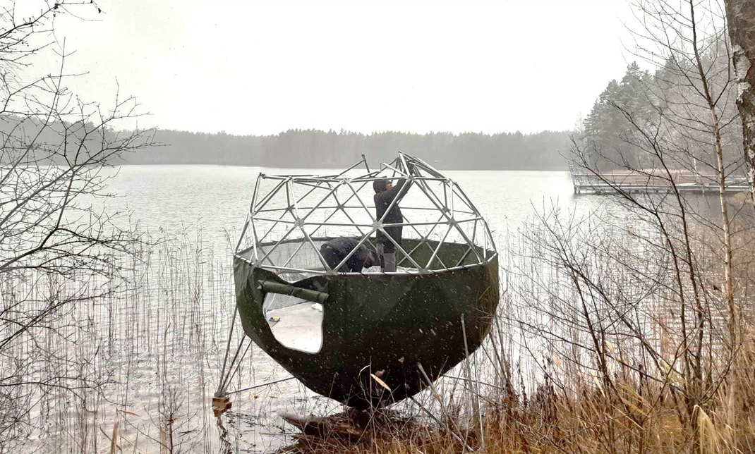 7m2 ⌀3m Crystal Dome for Wild Nature | Treehouse Village